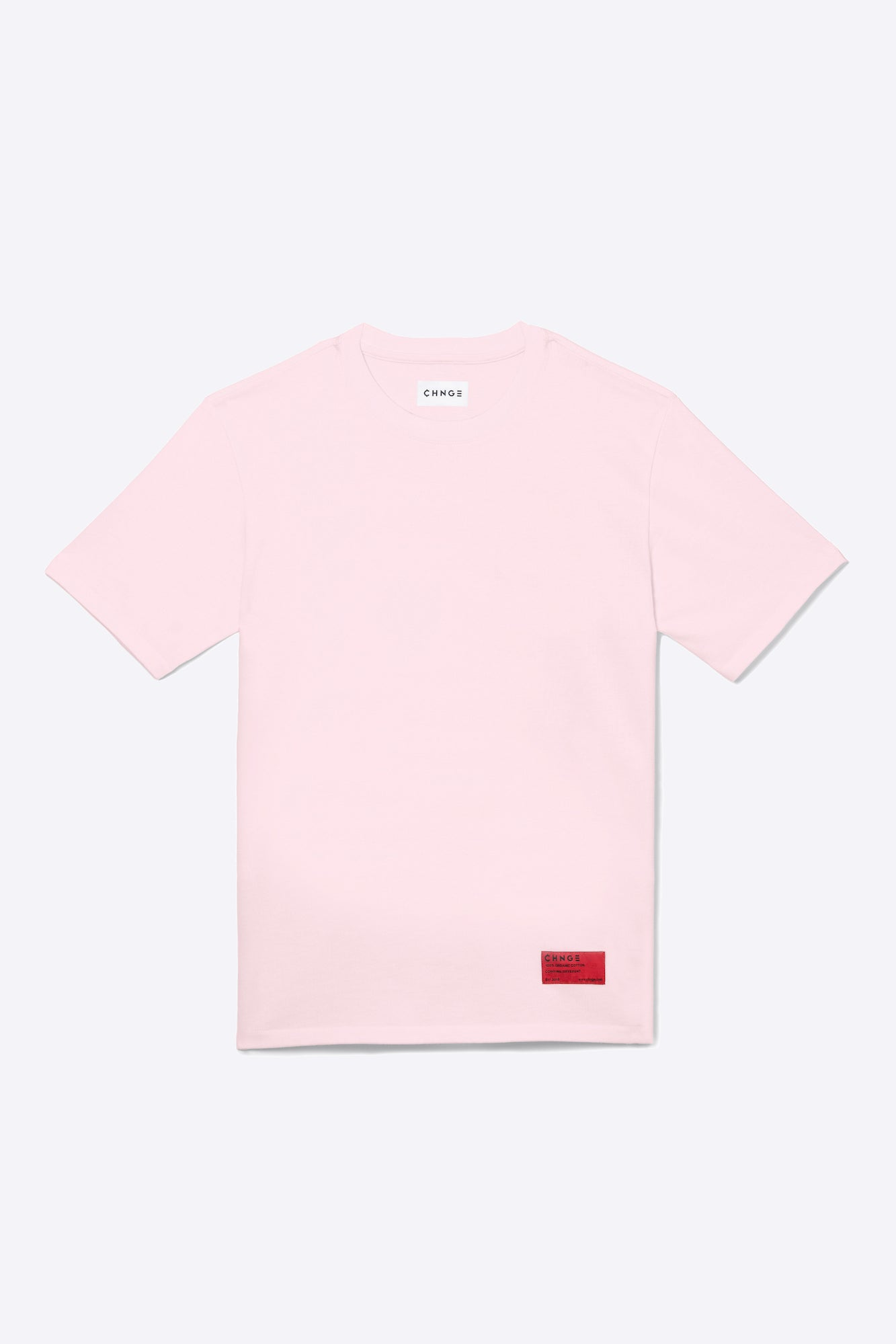 Pale Pink Organic Cotton Tee