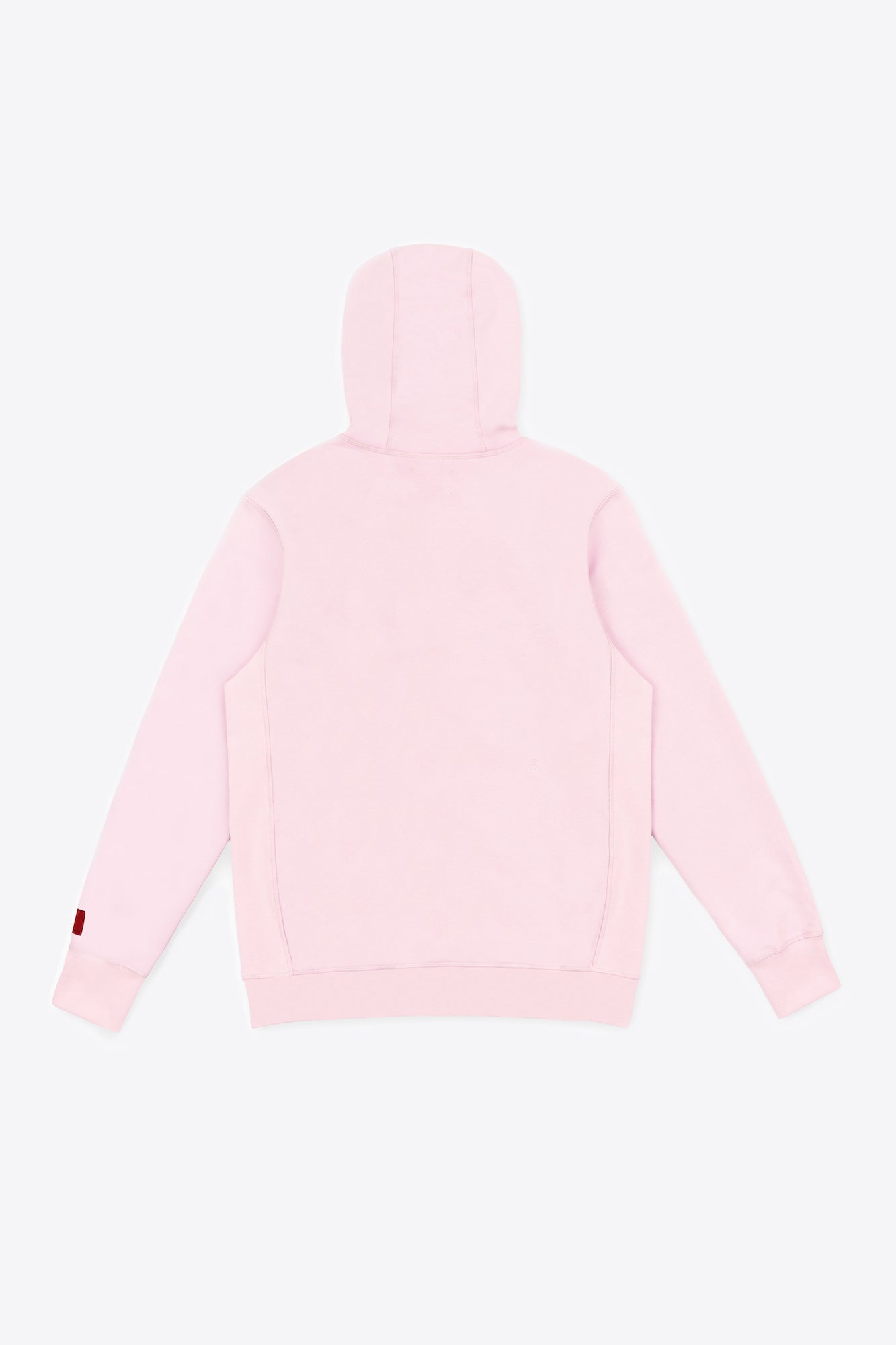 Pale Pink Tonal Embroidered Hoodie