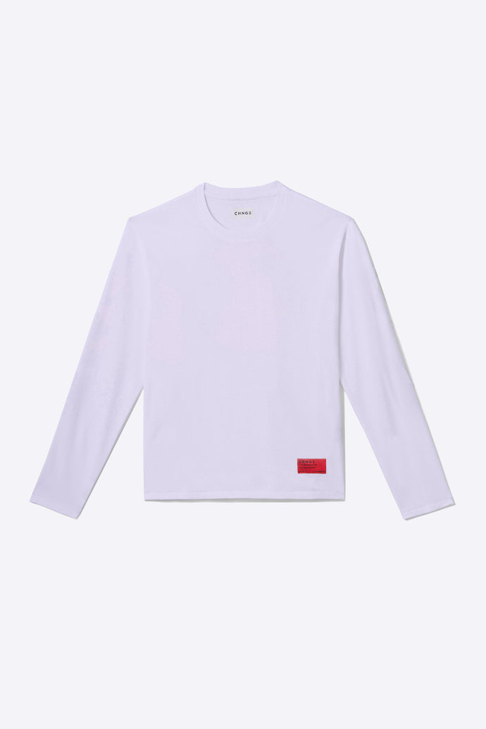 Violet Organic Cotton Long-Sleeve