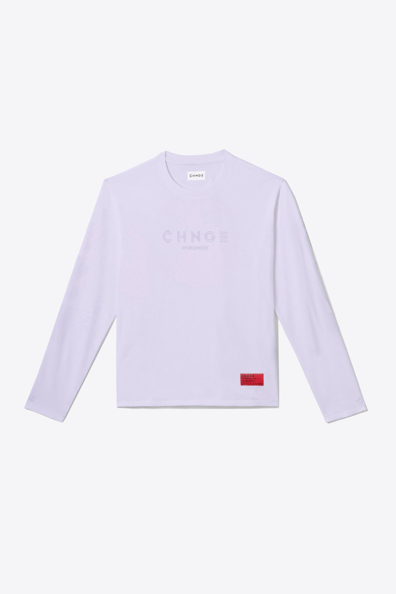 Violet Tonal Embroidered Long-Sleeve
