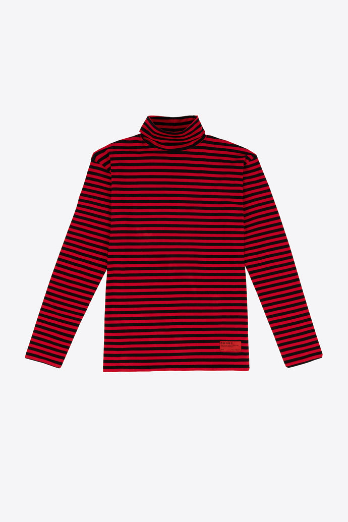 Turtleneck (Black and Red)