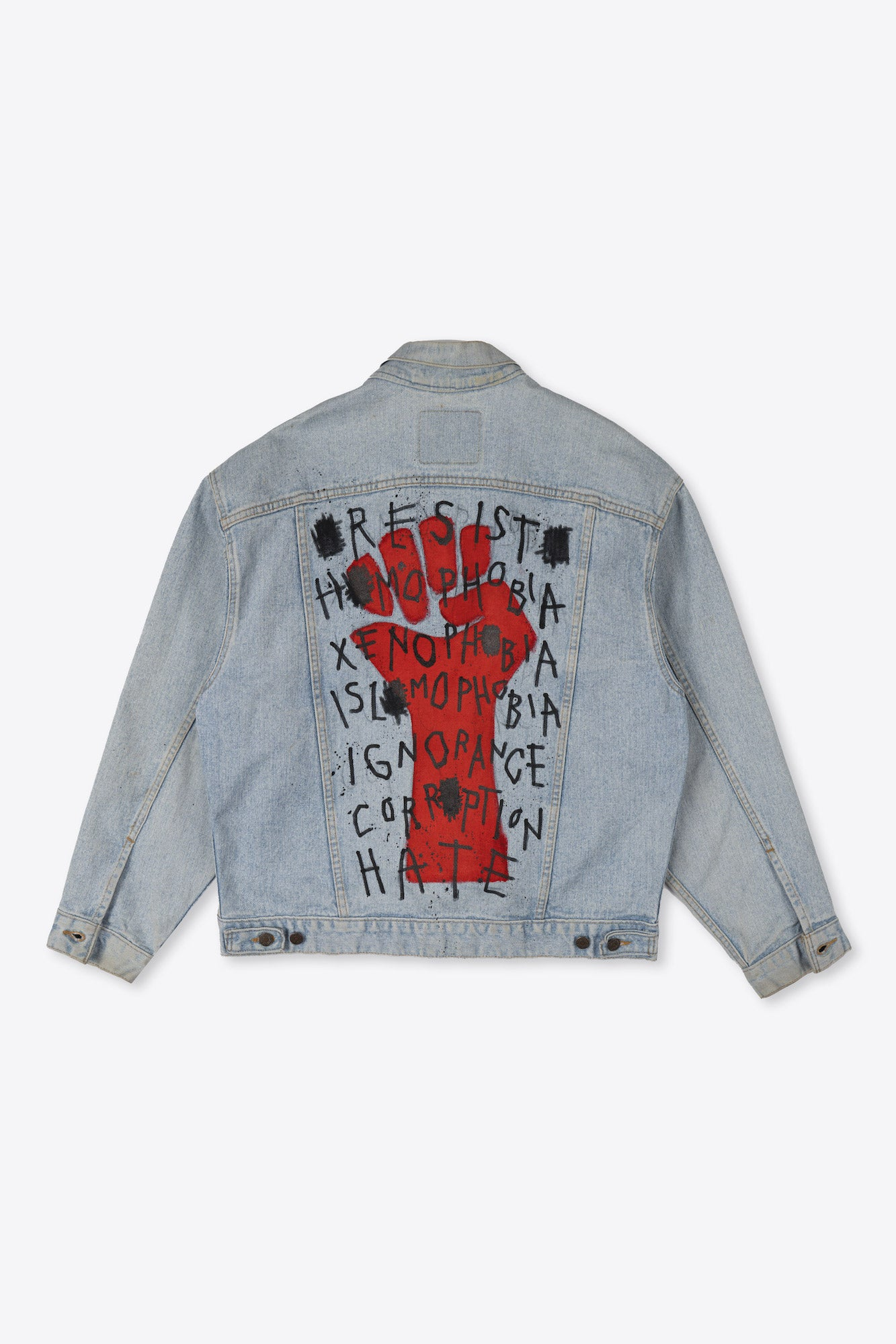 Resist Re-Worked Denim Jacket