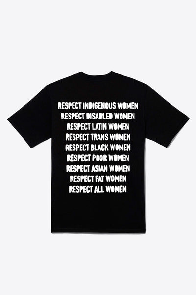 Respect Women S/S T-Shirt (Black)