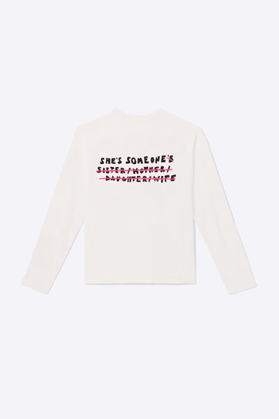 Somebodies Long Sleeve (Chalk)