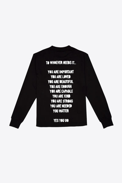 To Whoever Needs It Cuffed L/S T-Shirt