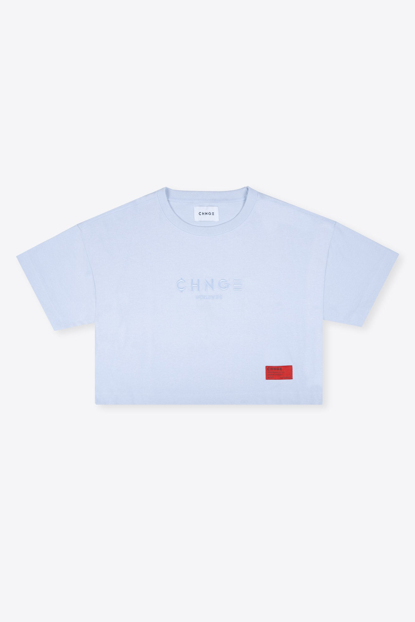 Light Blue Tonal Crop