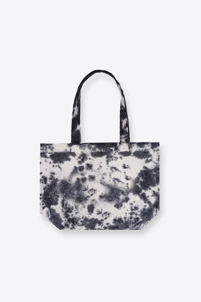 Black Overdye Tote Bag
