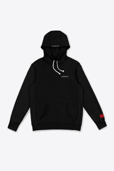 Black Butterfly Quote Hoodie