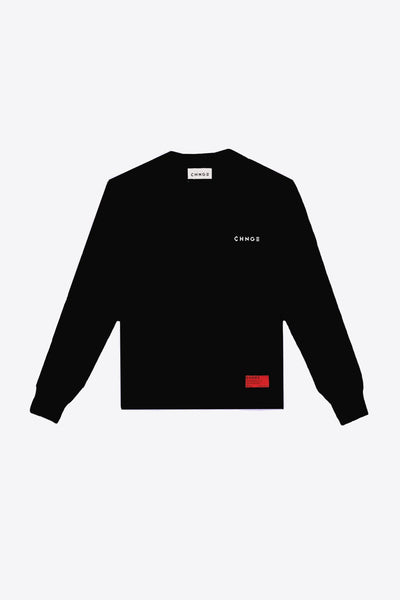 WDOYS Pocketed L/S Tee (Black)