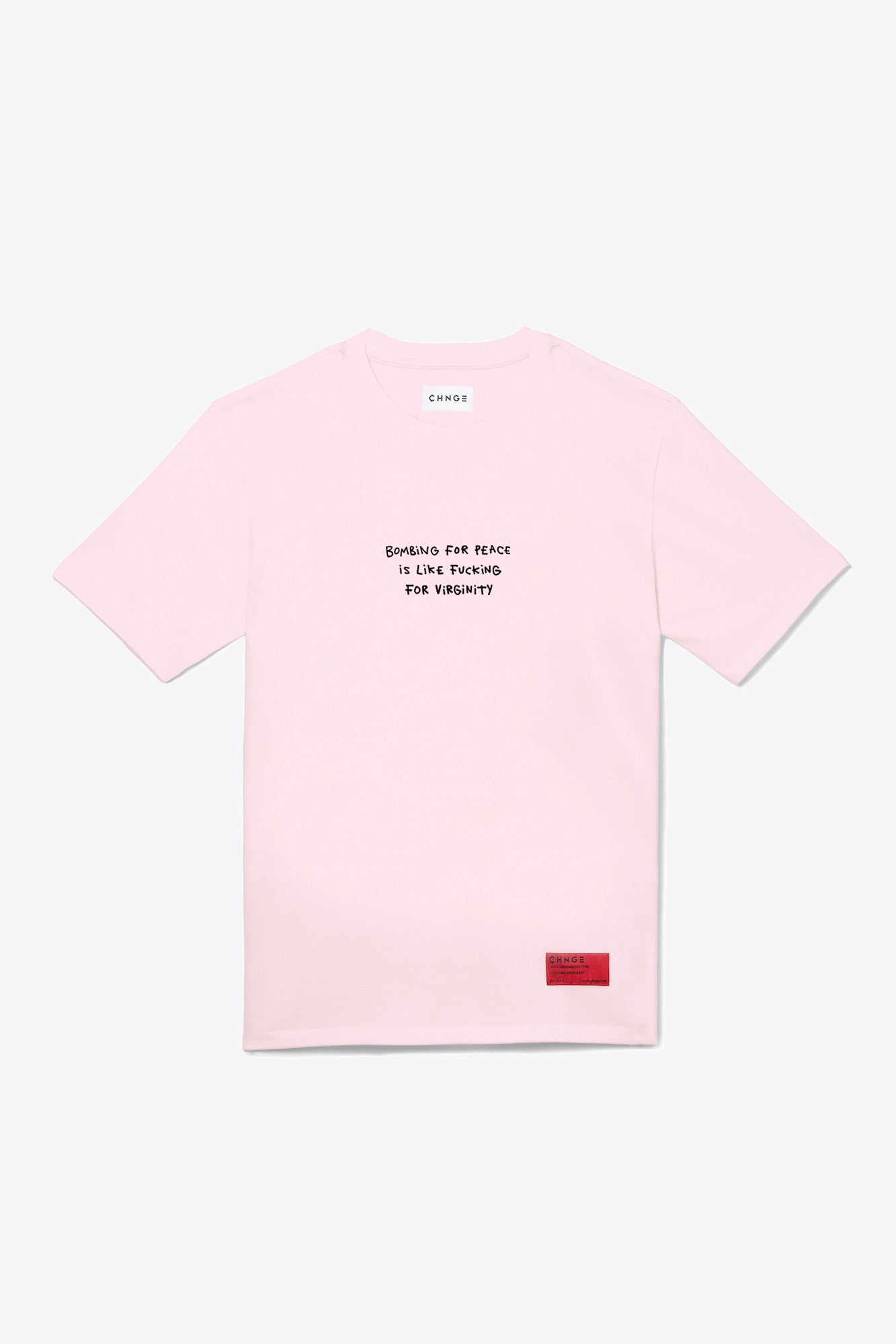 Bombing for Peace Tee (Pink)