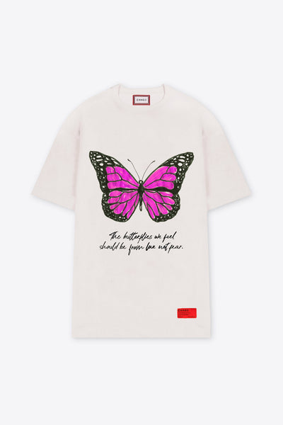 Feelings of Butterflies T-Shirt Dress