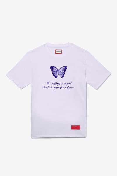 Butterfly Feelings S/S T-Shirt (Violet)