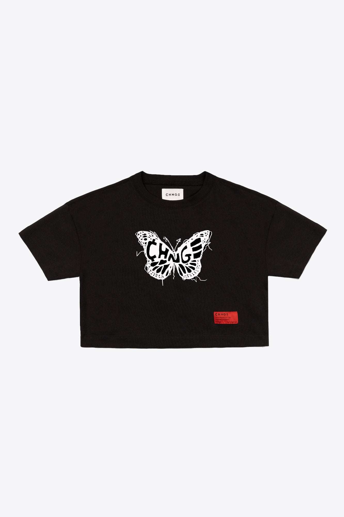 Logo Butterfly Crop (Black)