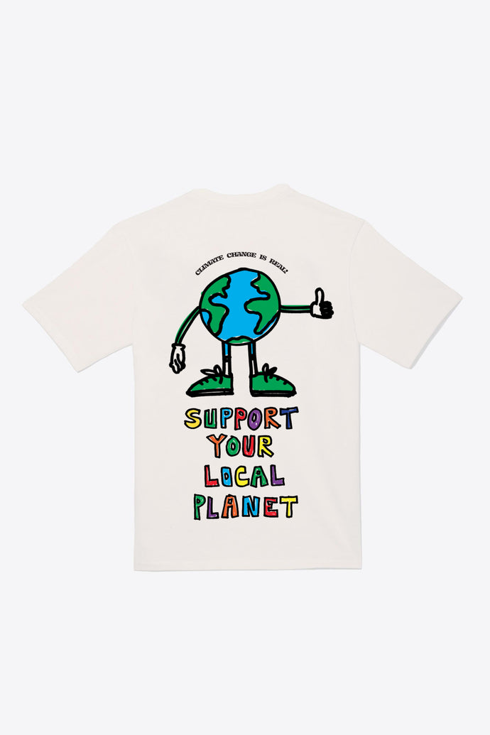 Every Day Earth Day S/S T-Shirt (Chalk)