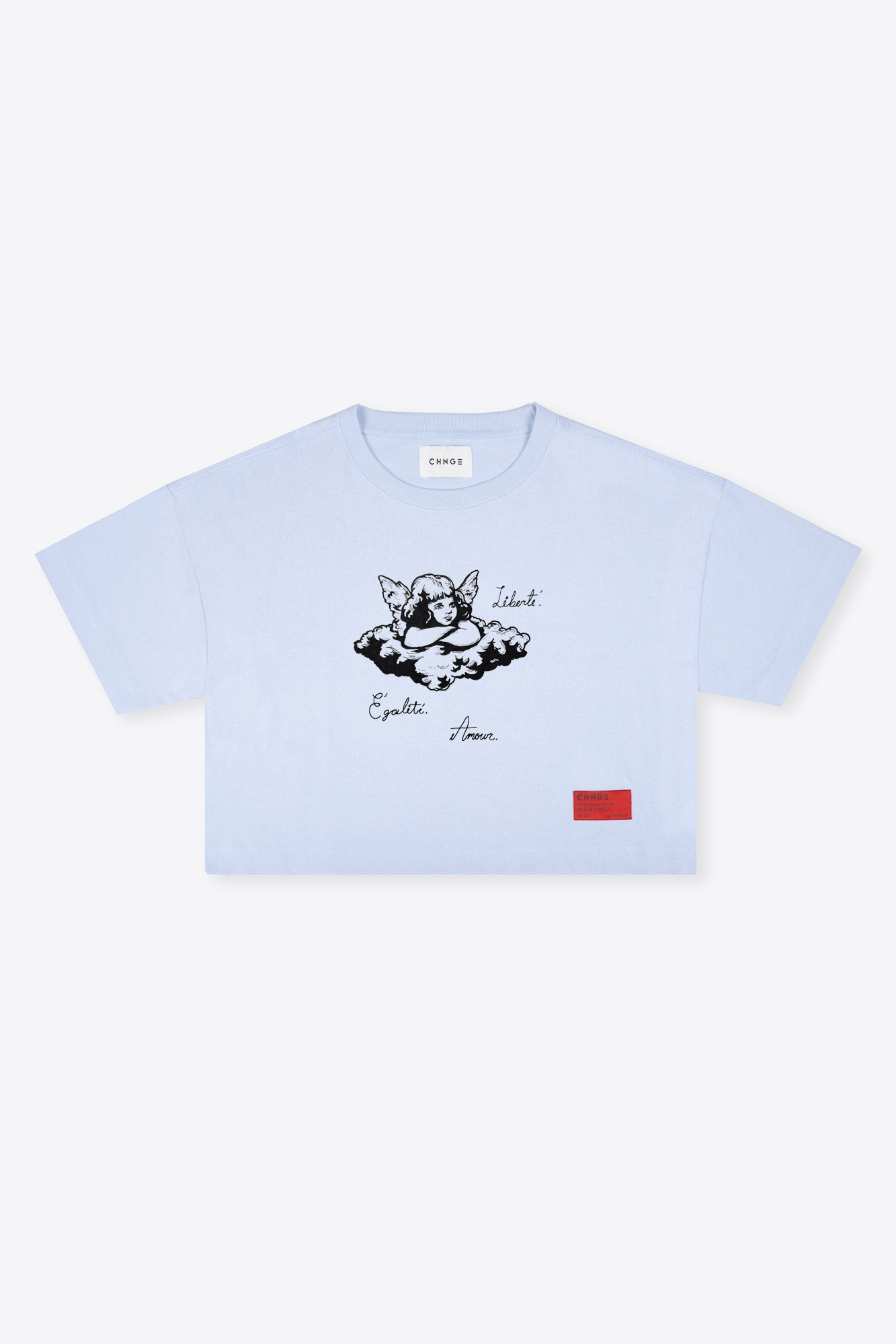Cherub Crop (Light Blue)