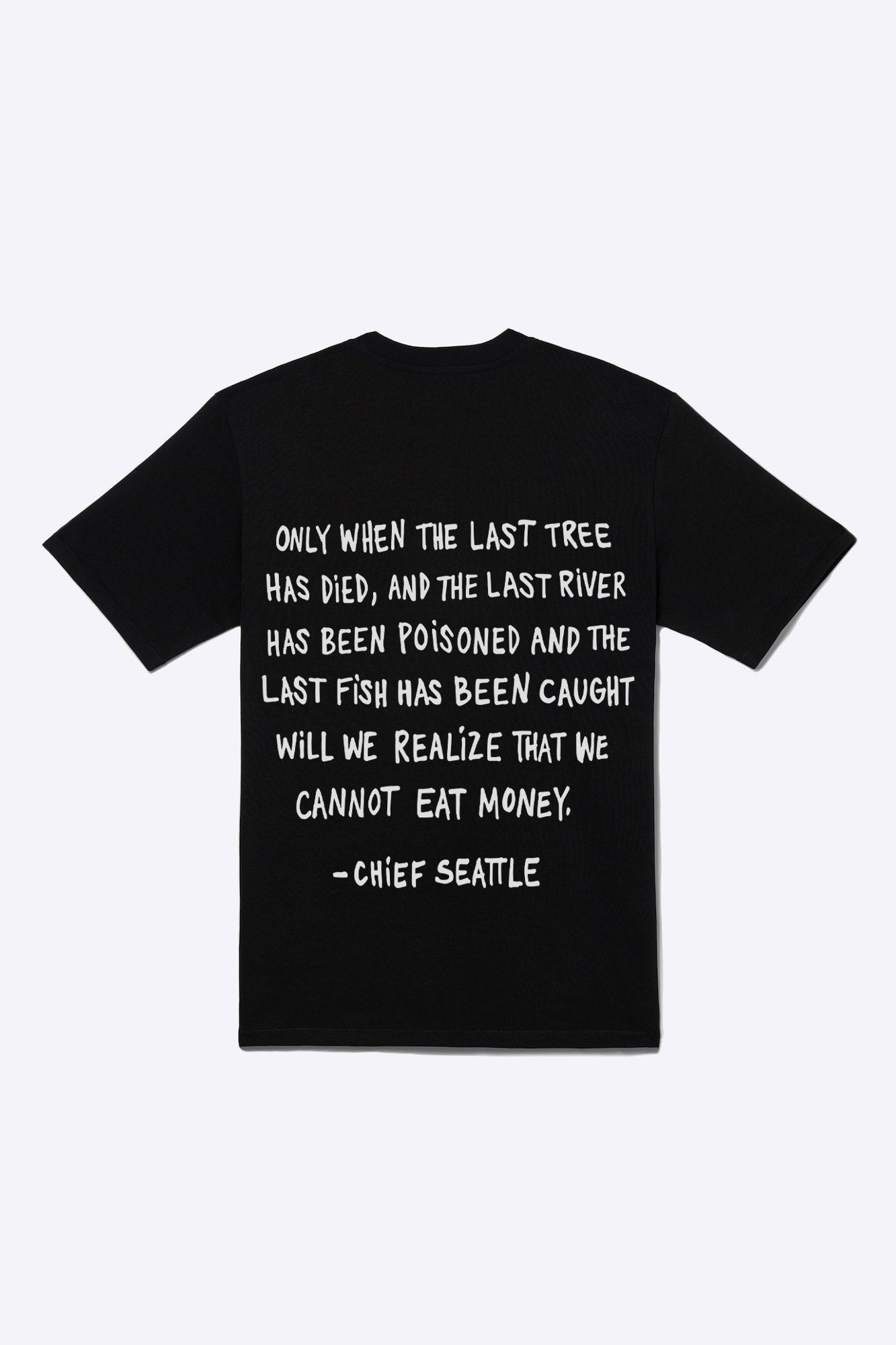 Chief Seattle Tee (Black)