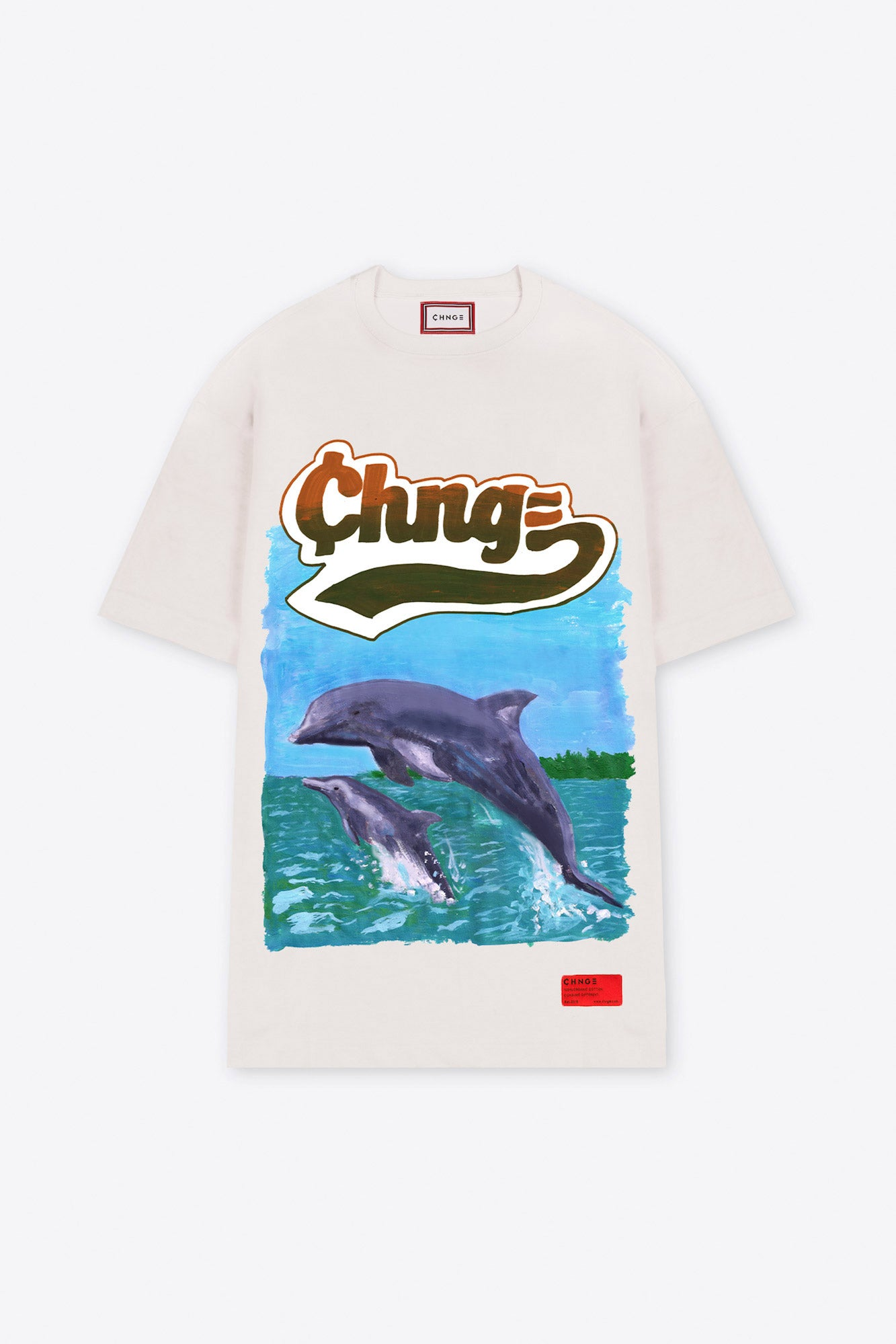 Chnge Dolphin T-Shirt Dress