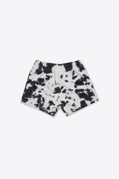 Chalk/Black Tie Dye Sweatshorts