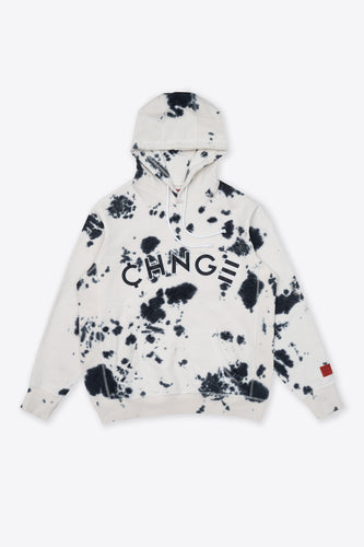 Cookies & Cream Tie Dye University Hoodie