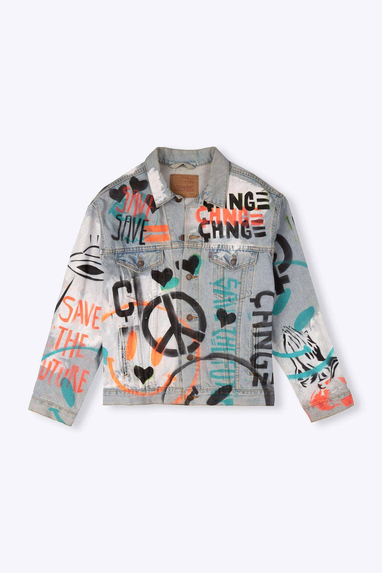 Future ?  Re-Worked Denim Jacket