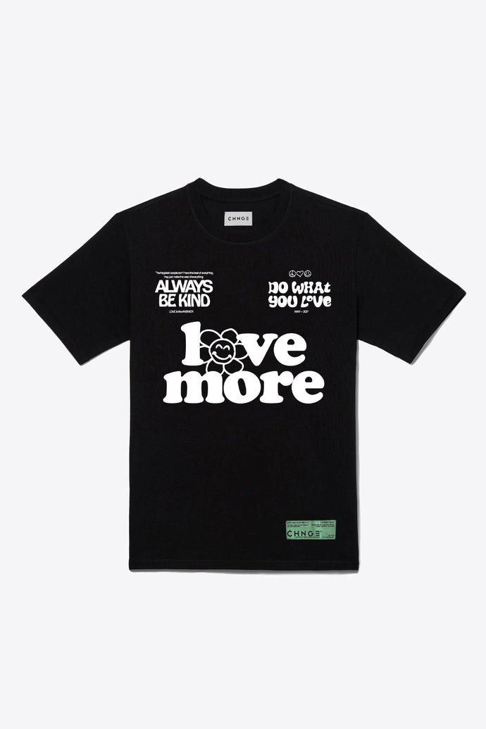 Love more Always Be Kind S/S T-Shirt (Black)
