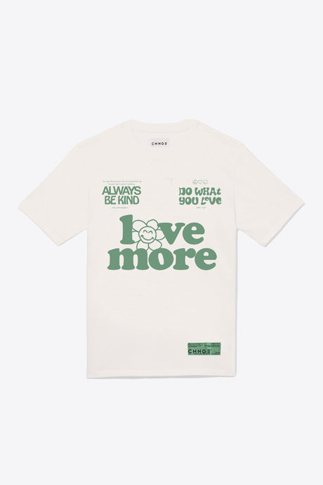 Love more Always Be Kind S/S T-Shirt (Chalk)