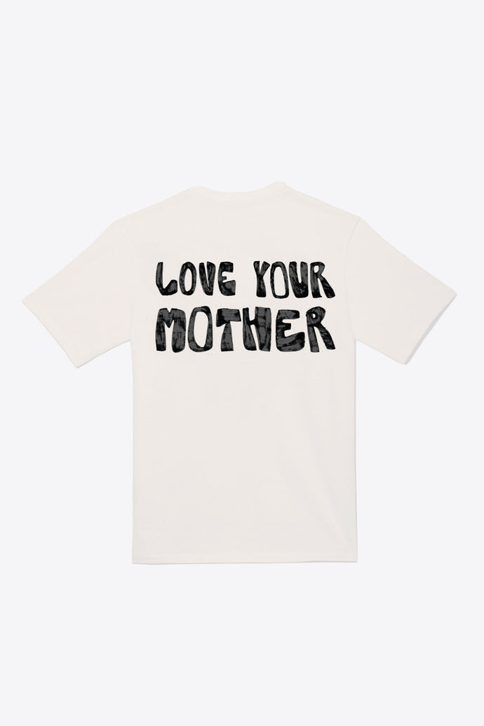 Zero Waste Love Your Mother Tee (Chalk)