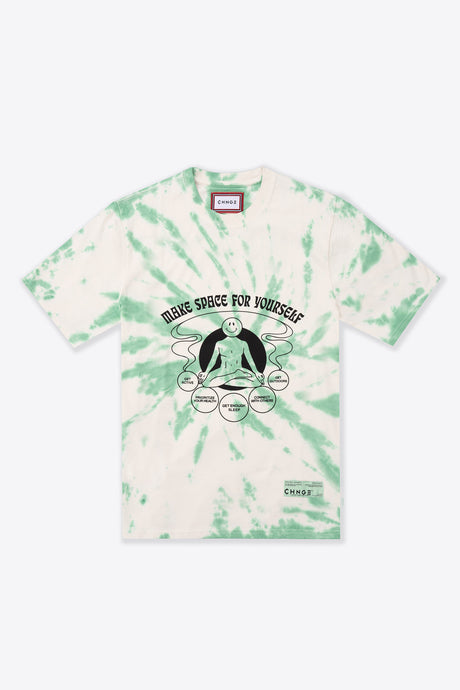 Tie Dye Make Space for Yourself S/S T-Shirt