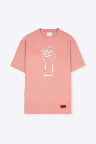 Zero Tolerance T-Shirt Dress (Dusty Rose)