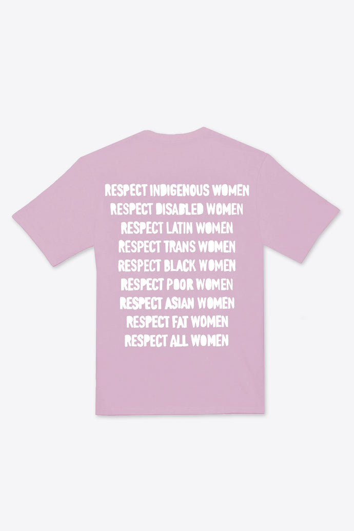 Respect Women S/S T-Shirt (Mauve)
