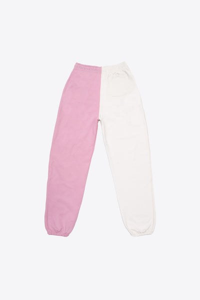 Mauve/Chalk Pieced Sweatpant