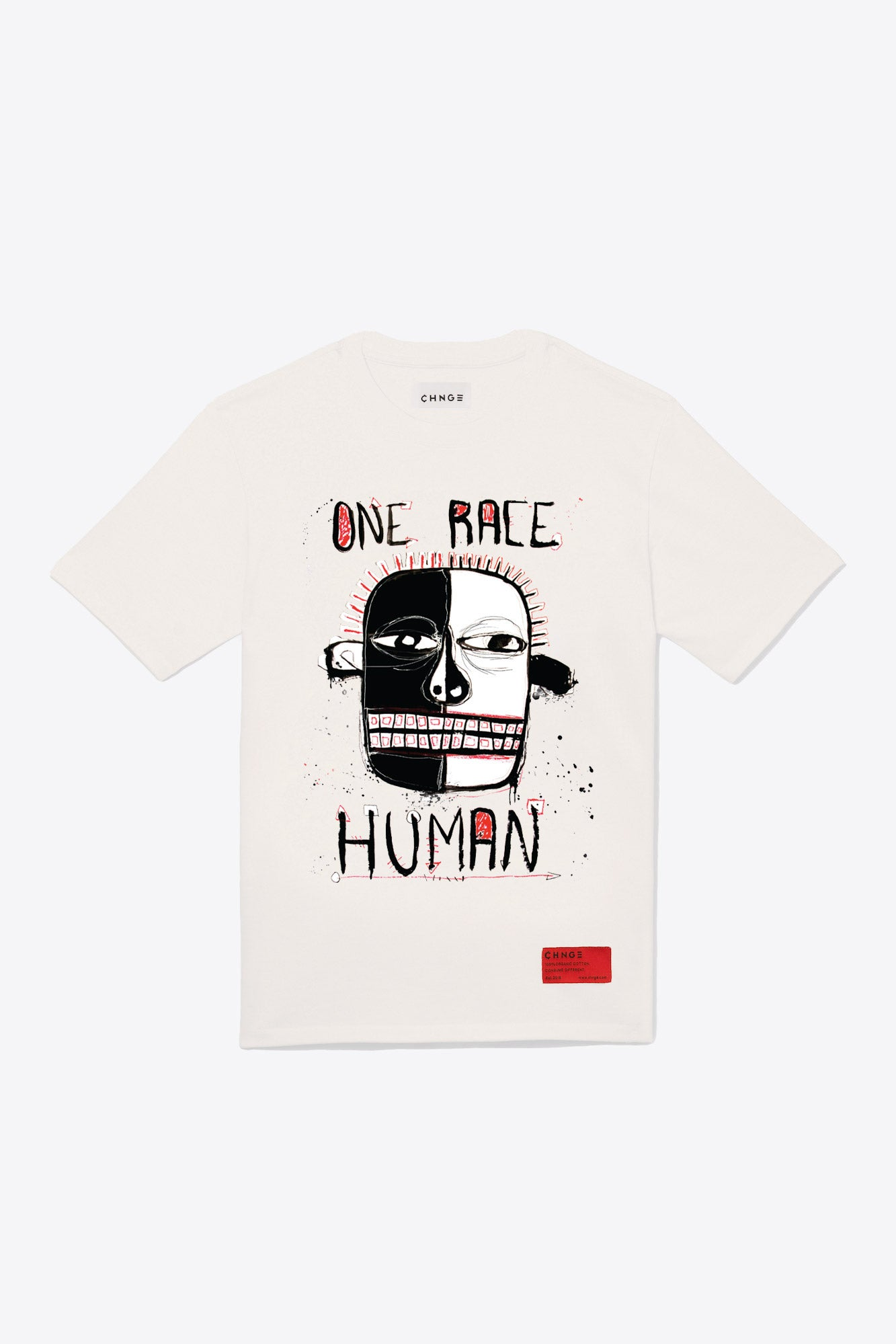 One Race Tee (Chalk)