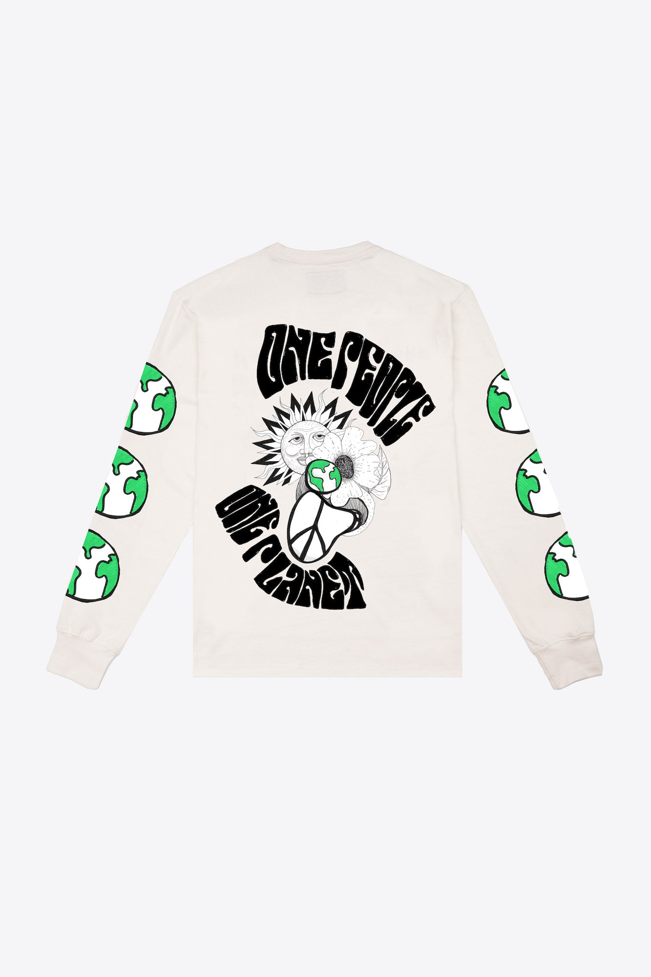 One People One Planet Pocketed L/S T-Shirt