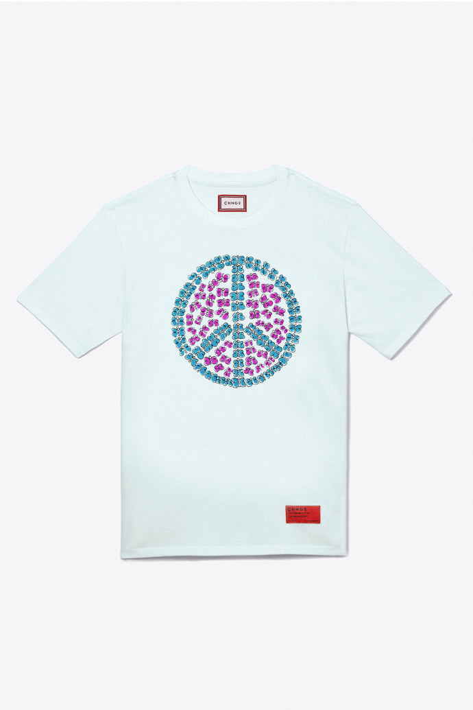 Peace Butterfly S/S T-Shirt (Mint)