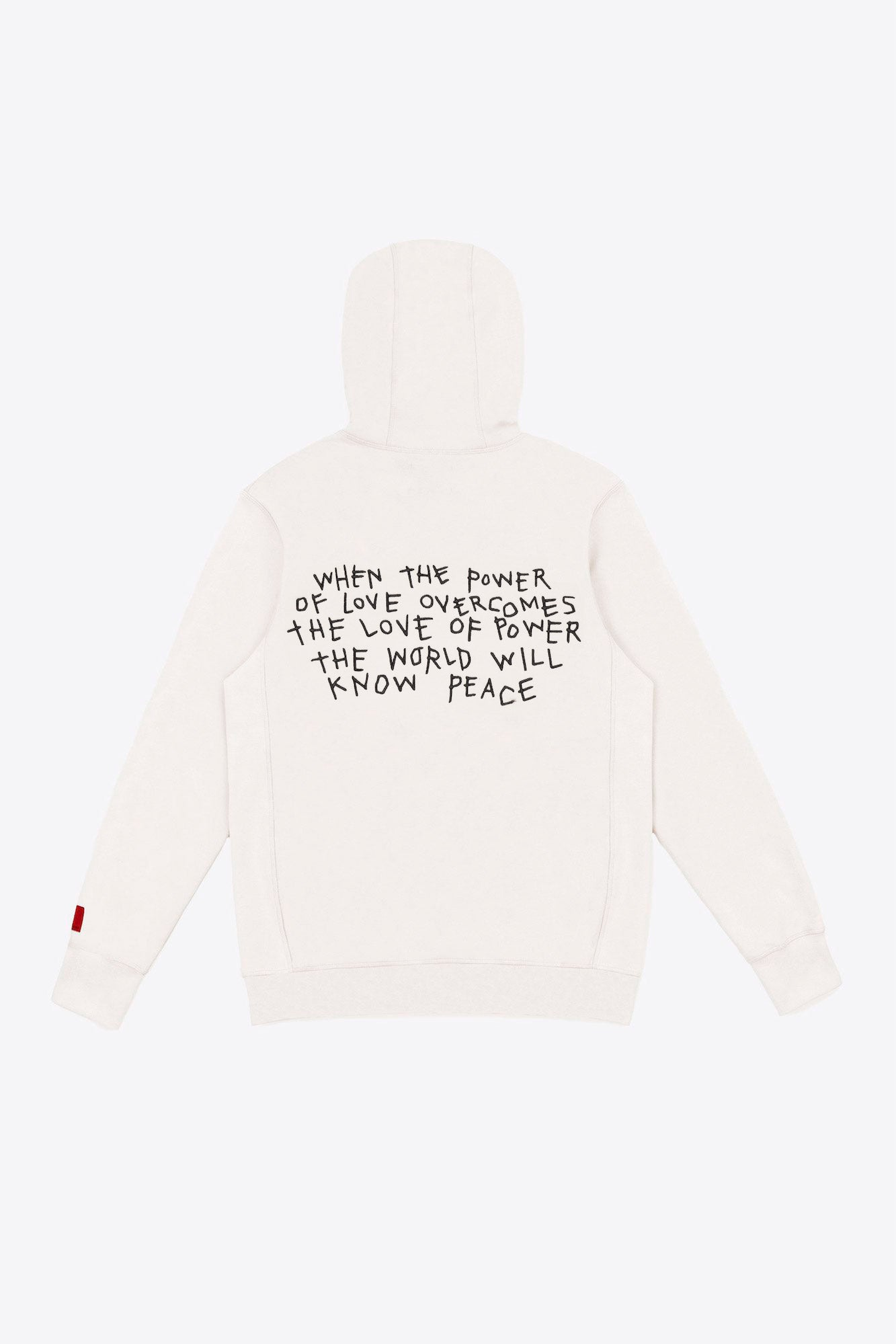Chalk Power of Love Hoodie