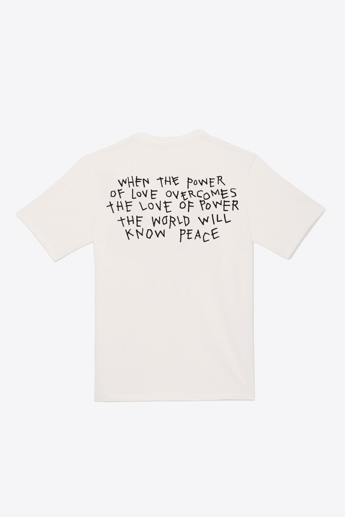 Power of Love Tee (Chalk)