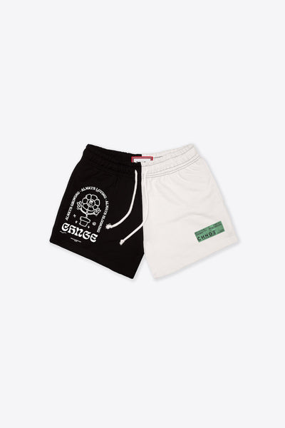 MHA Chalk/Black Pieced Sweatshort
