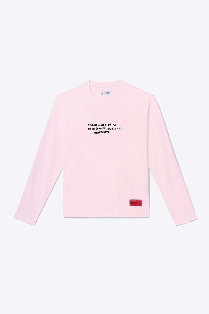 Somebodies Long Sleeve (Pink)