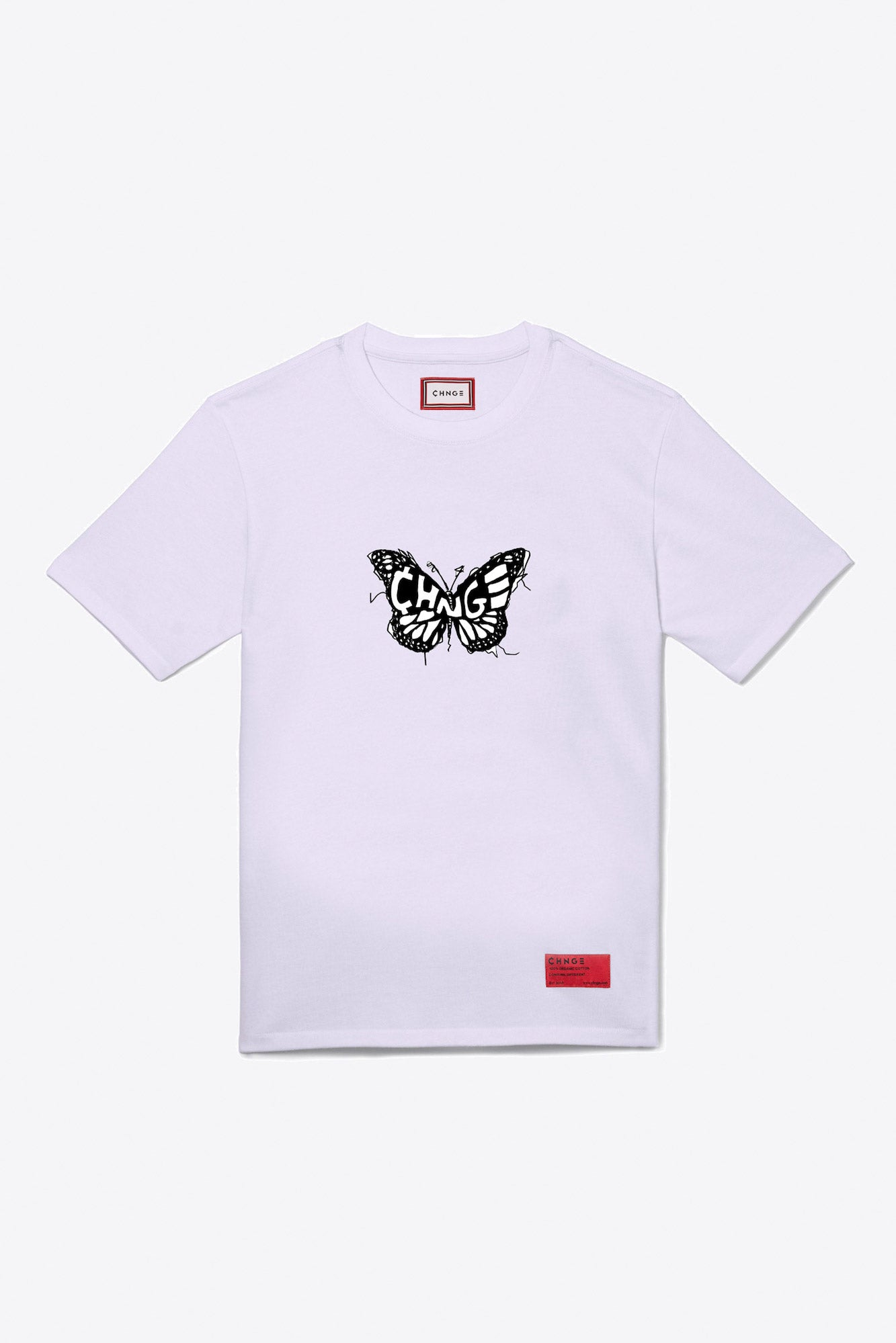 Logo Butterfly S/S T-Shirt (Violet)