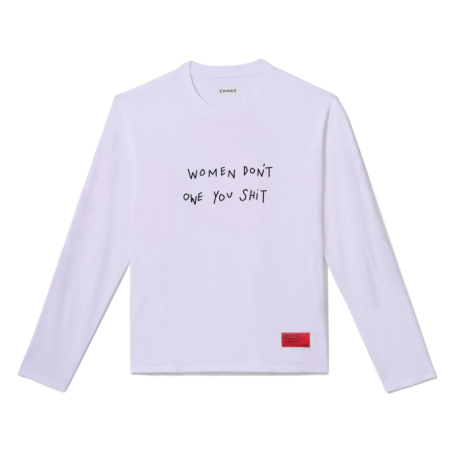 Women Don't Owe You Shit Long Sleeve (Violet)