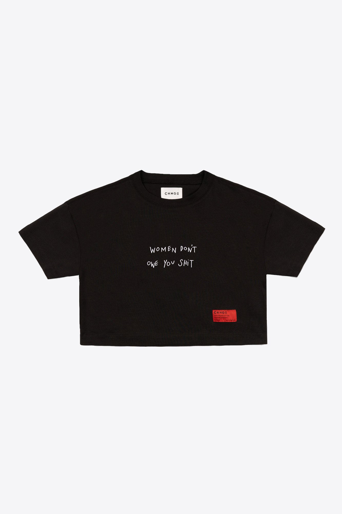 WDOYS Crop Top (Black)