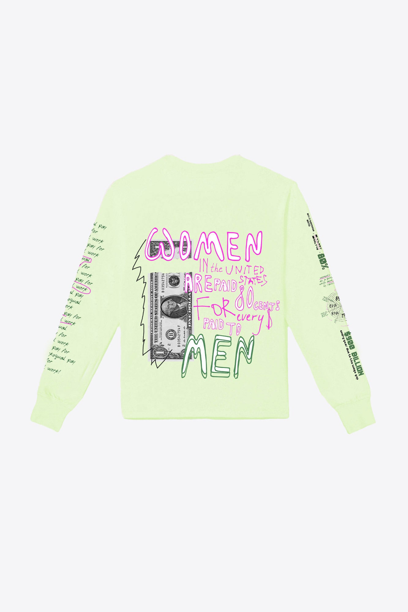 Wealth Gap Pocketed L/S T-Shirt