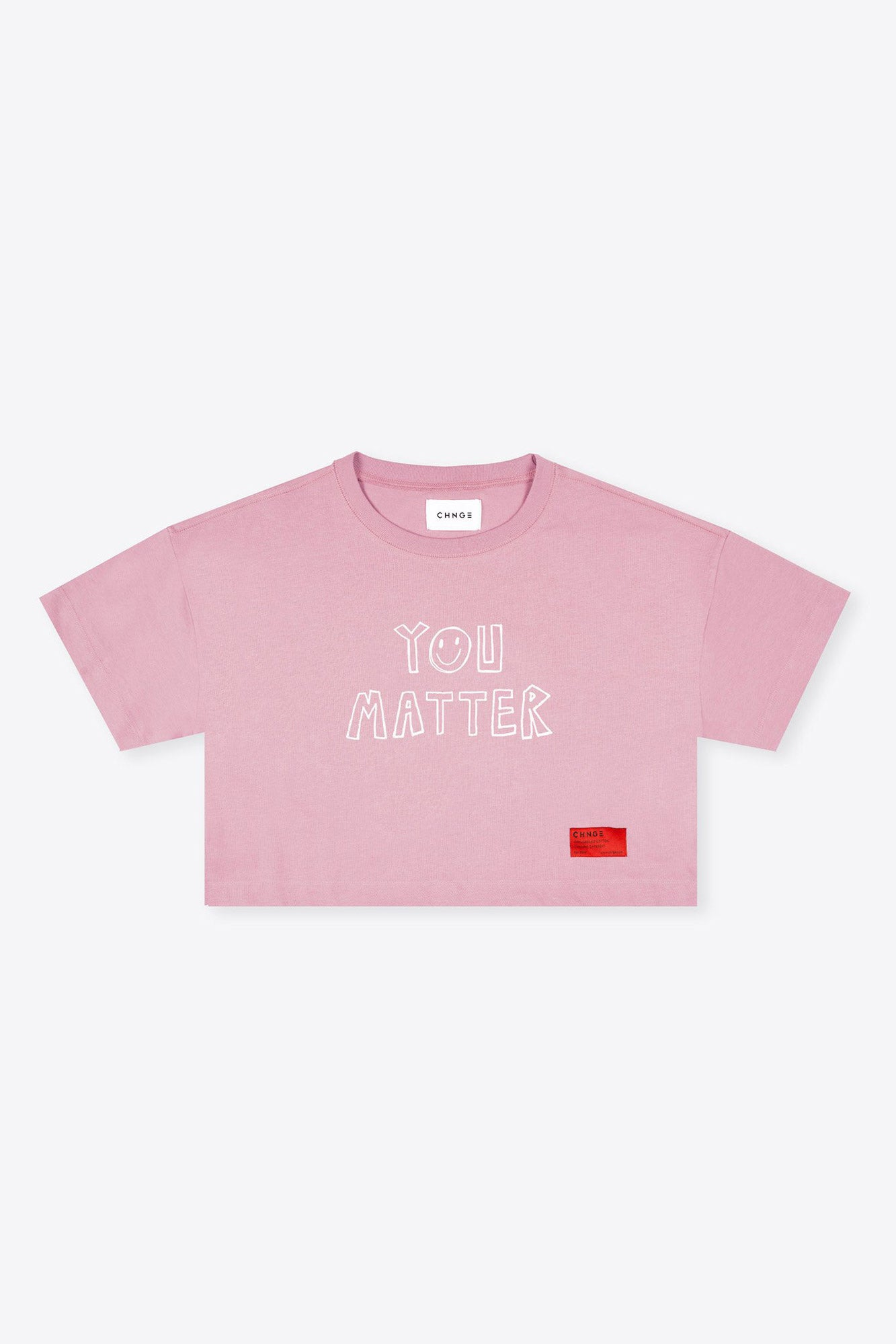 You Matter Crop (Mauve)