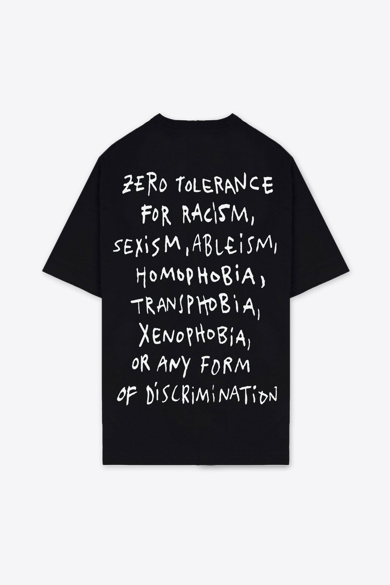 Zero Tolerance T-Shirt Dress (Black)