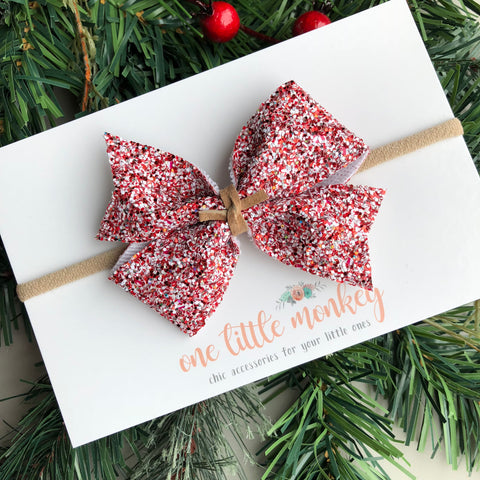 Peppermint Bark KENNEDY Bow