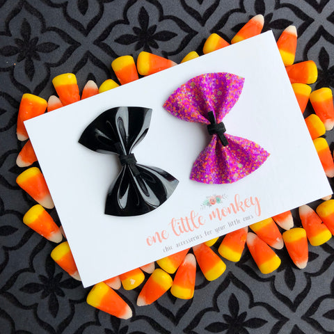 HARPER Bows - Set of 2 - Spooktacular