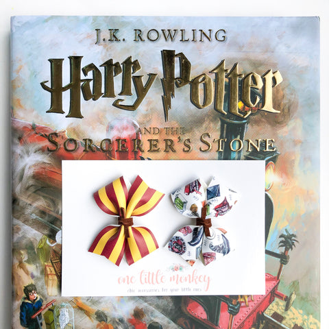 RAEGAN Bows - Set of 2 - Gryffindor