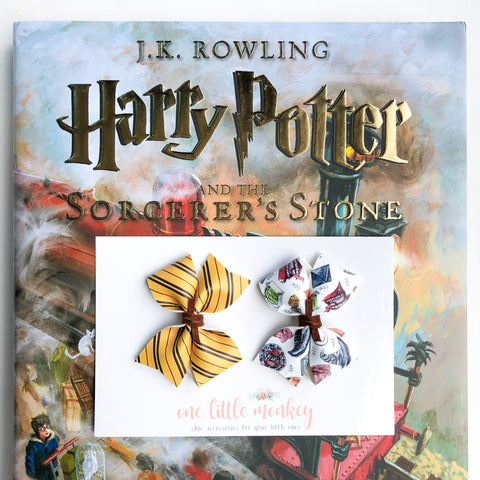 RAEGAN Bows - Set of 2 - Hufflepuff