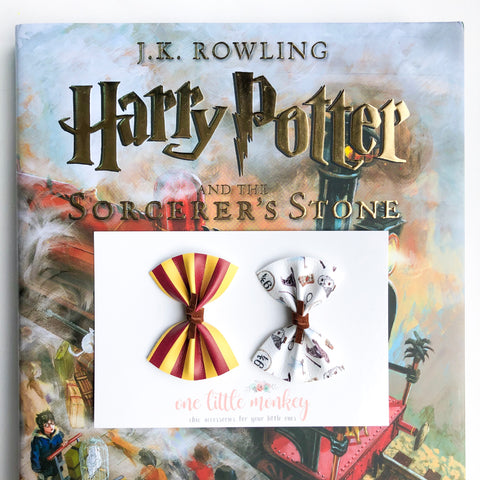 HARPER Bows - Set of 2 - Gryffindor