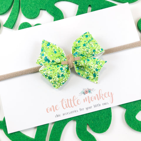 Green Clovers RAEGAN Bow